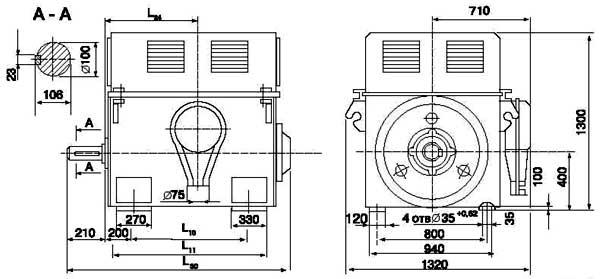 Двигатели серии А4-450