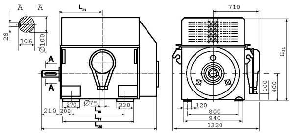 Двигатели серии ДАЗО4-400